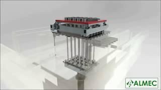 Almec 3D aluminium casting flow