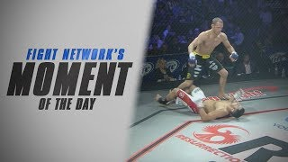 Tommy Thompson Flattens Joey Banks in 20 Seconds at RFA 7   Moment of the Day