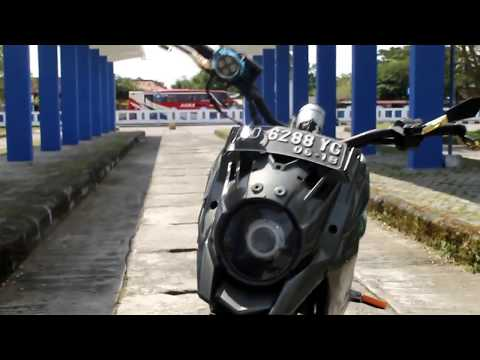 Video Modif Honda Revo 100cc (Review Adventure)