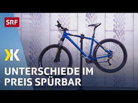 Mountainbikes im Test: Vorsicht vor Rahmenbruch  | 2018 | SRF Kassensturz