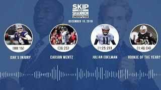Dak's injury, Carson Wentz, Julian Edelman, Rookie of the Year | UNDISPUTED Audio Podcast