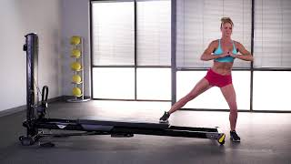 Lateral Lunge (Closed or Open Glideboard)