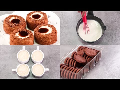 EASY DESSERT RECIPE IN CUP l EGGLESS & WITHOUT OVEN