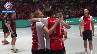 Samenvatting finale Korfbal League: Fortuna - TOP - OMROEP WEST