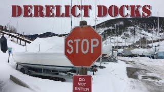 Derelict Dock & Marina - Almost Winter