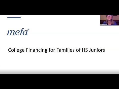 College Financing for Families of High School Juniors