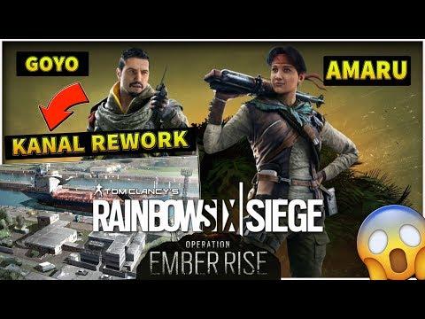 OPERAZIONE EMBER RISE in ANTEPRIMA MONDIALE! PROVIAMOLA INSIEME! - Rainbow Six Siege ITA LIVE
