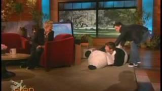 Ellen- Ellen scares her guests for Halloween