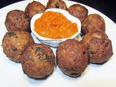 How To Make Spicy Deep fried Meatballs {Kababu Za Nyama}