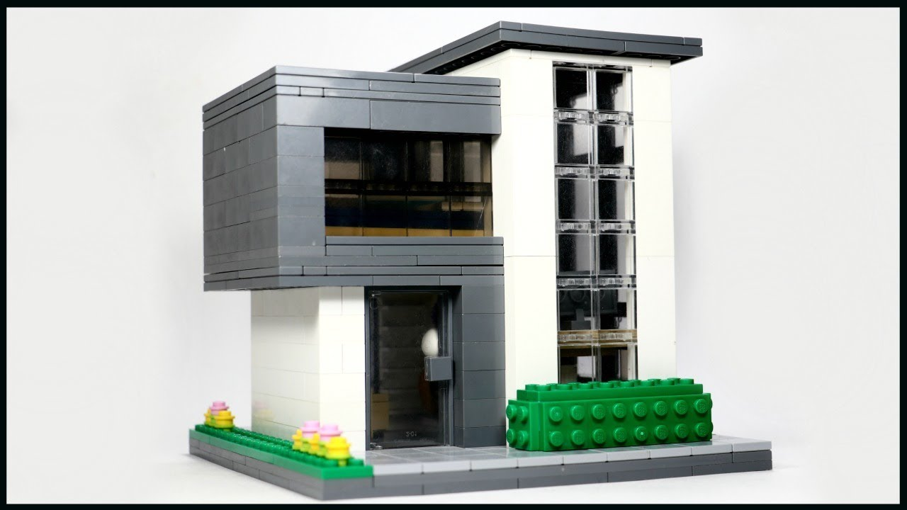 Tiny LEGO Modern House MOC