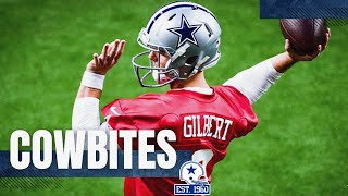 CowBites: Quarterback Competition | Dallas Cowboys 2020