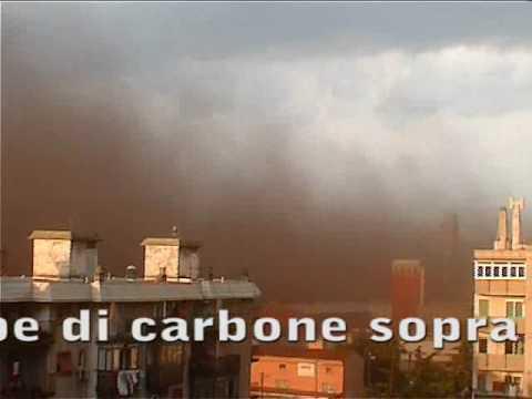 Ferriera di Servola – 18.07.2010 – Nube di carbone