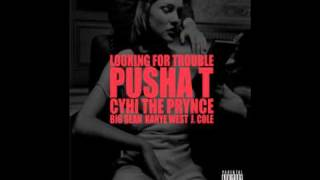Looking for Trouble (Feat. Pusha-T, Cyhi Da Prynce, J.Cole & Big Sean) - Kanye West [DOWNLOAD]