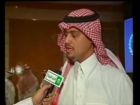 لقاء فيصل القحطاني مع الأمير عبد العزيز بن فهد