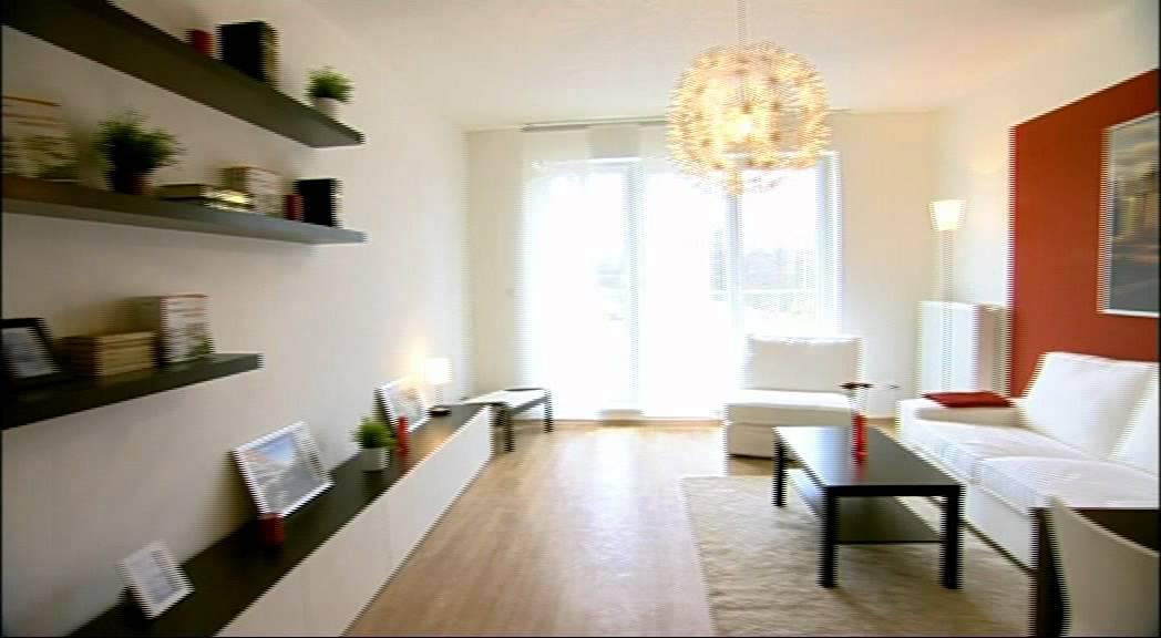 Obývací pokoje různých velikostí