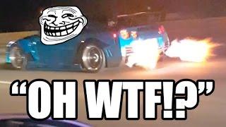 EPIC TROLL - Nissan GT-R Flyby!