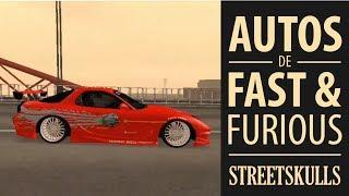 preview picture of video 'Autos De Rapido Y Furioso En GTA San Andreas (FnF Cars)'