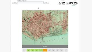 Sporcle Quiz - Can You Name The City From These Old Maps?