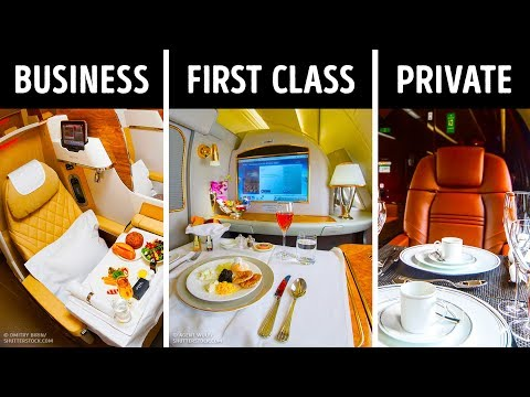 First Vs. Business Class: What's the Main Difference