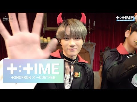 [T:TIME] TXT's fan sign event (eye contact ver.) - TXT (투모로우바이투게더)