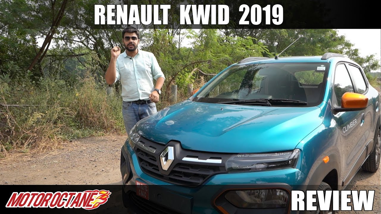 Motoroctane Youtube Video - Renault Kwid 2019 Review - Kya looks hai!! | Hindi | MotorOctane