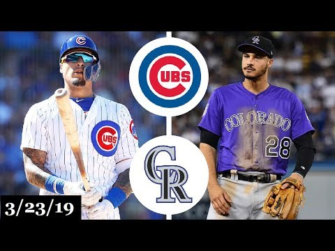 Chicago Cubs vs Colorado Rockies Highlights | March 23, 2019 | Spring Training