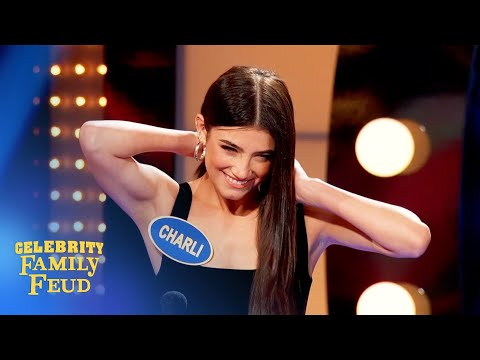 Can Charli D'Amelio save the day?   Celebrity Family Feud