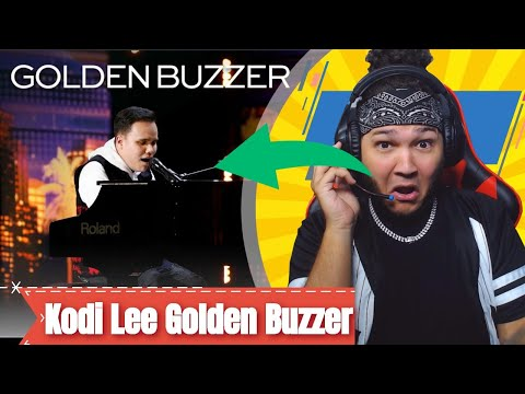 Golden Buzzer: Kodi Lee Wows You With A Historical Music Moment! - AGT 2019 REACTION!! (видео)