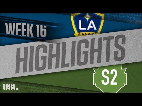 LA Galaxy 2 - Seattle 2 5:3. Видеообзор матча 02.07.2018. Видео голов и опасных моментов игры