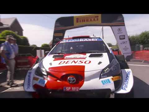 WRC 2021 WRC第8戦 ラリー・ベルギー 金曜日ハイライト動画(2/2)