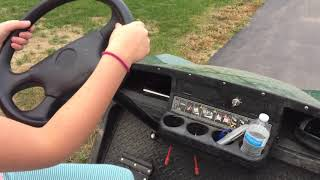 How to drive a golf cart properly
