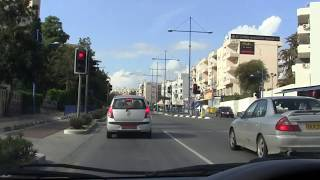 preview picture of video 'Entering Limassol from Old road'