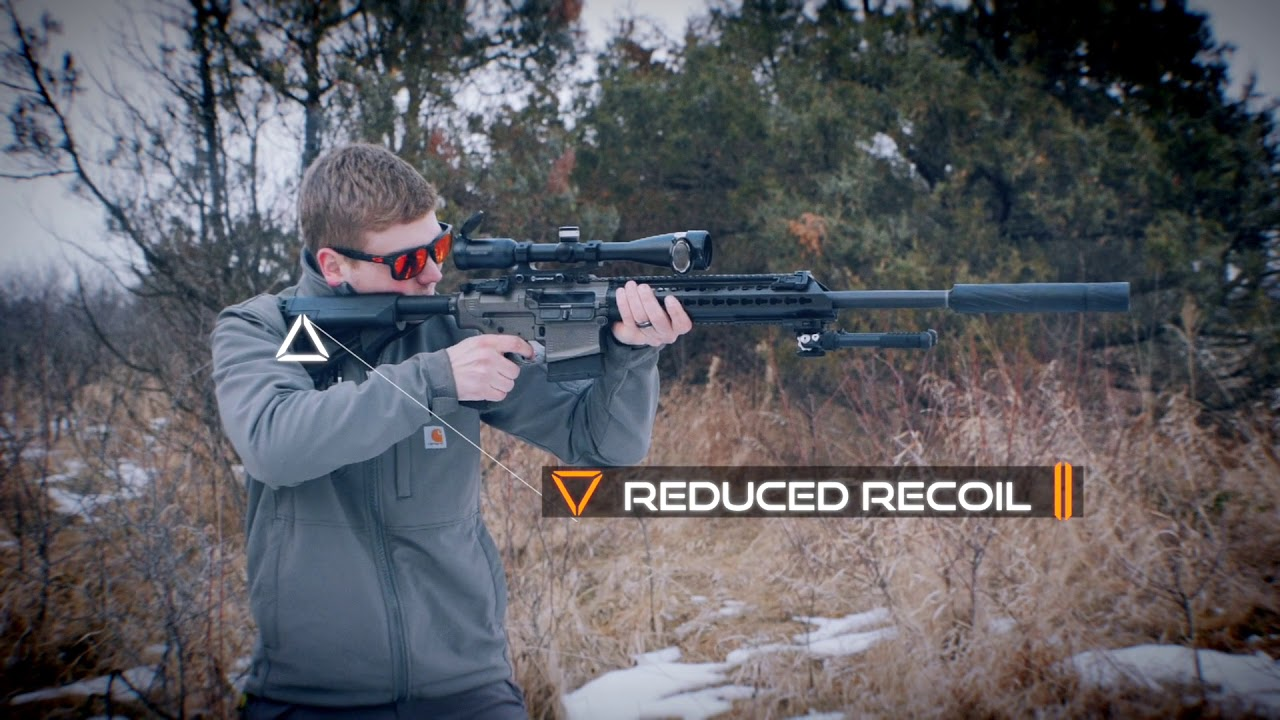 Banish 30 Multi-Caliber Suppressor