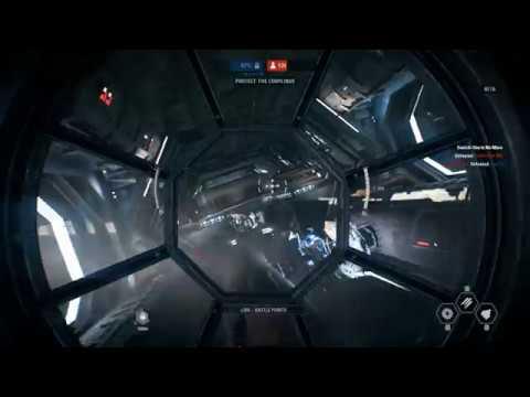 Видео TIE/LN Fighter Onboard, Star Wars Battlefront II Beta Multiplayer