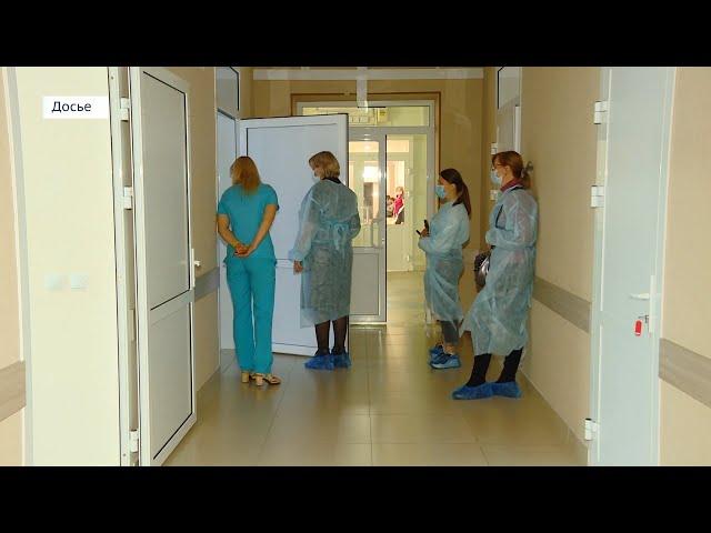 В ангарском роддоме развернут ковидный госпиталь