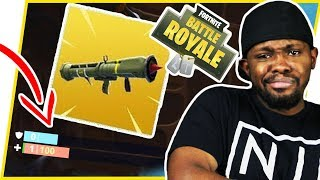 HUNTING FOR THE NEW MISSILE LAUNCHER! EPIC SURVIVAL! - FortNite Battle Royale Ep.108