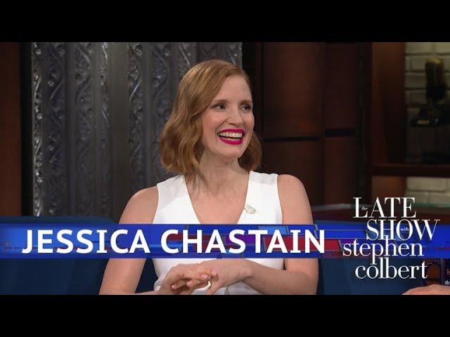 İngilizce'de Jessica chastain Video Telaffuz