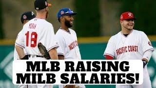 MLB Finally Increases Minor League Salaries!