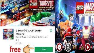 lego marvel superheroes apk free download android