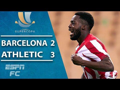 Athletic Bilbao pull off EPIC comeback vs. Barcelona to win Spanish Supercopa | ESPN FC Highlights