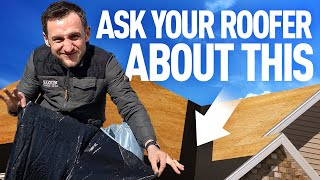 ROOFING ICE AND WATER SHIELD: WHAT YOUR ROOFER HIDES FROM YOU?