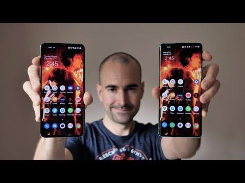 OnePlus 8T vs 8 Pro comparison review