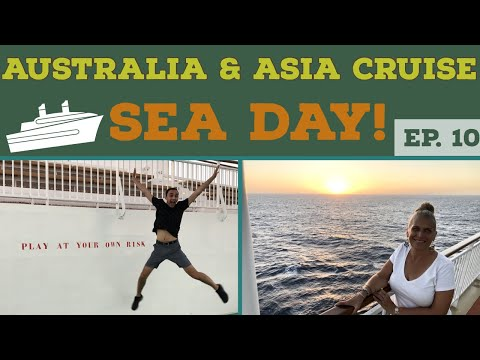 WEIRDEST Sea Day EVER!!! Cruise Vlog l Ep. 10