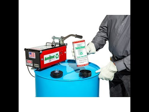 <b>The Safe2Vent®</b><b>Single Filter Assembly </b>features: <strong>Universal Design:</strong> The Safe2Vent® drum vent filter is compatible with all manual, single can aerosol can disposal systems. The reusable base is made to fit the 3/4 inch opening on any steel drum.<b></b> <strong>Exclusive Viz-a-Ball™ Indicator Check Valve:</strong> This revolutionary design serves two essential functions. First, it keeps the operator safe by indicating when the system is completely depressurized and can be opened. Second, the ball check valve complies with OSHA, EPA and California regulations requiring the drum to be closed and prevent vapors from escaping into the atmosphere after processing. The Safe2Vent® is the only drum vent filter that includes this important safety feature. <strong>Environmentally Friendly:</strong> Safe2Vent® cellulose construction is 96% biodegradable, man be safely be sent directly to the landfill and decomposes naturally. Other drum vent filters that are plastic encased can take years to breakdown. Safe2Vent® contains more carbon media than any other filter available and will last longer. Plus, each replaceable filter includes the coalescing element for convenient and safe handling. <b>Compliant in all 50 states: </b>Unlike many drum filters, the <b>Safe2Vent®</b>is compliant in all 50 states and conforms to OSHA, EPA and California SB1158 regulations. <strong>Fully replaceable</strong>. Just remove the filter cartridge from the reusable base and replace with the new cartridge.Purchase aerosol can recycling equipment today! <strong><em>*Patent pending</em></strong>