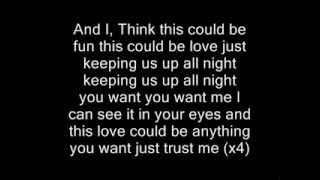 "Daniel J - ""Up All Night"" - Lyrics"