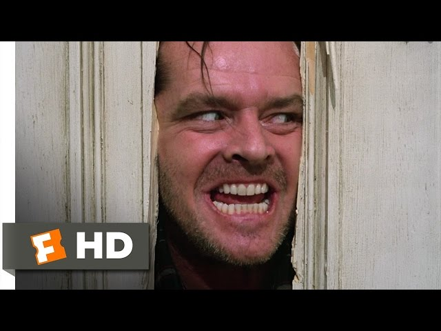 ¡Aqui esta Johnny! Here's Johnny! - El Resplandor / The Shining (1980) Escena del baño HD
