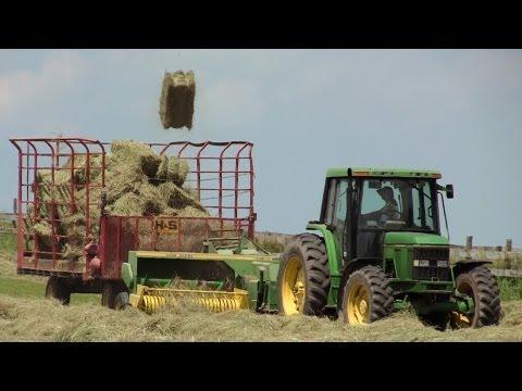 Rolling Oaks Farm - Hay Baling on June 19, 2013