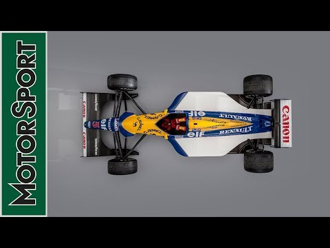 Image: WATCH: Mansell's old Williams fired up!