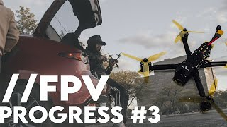 Nazgul 5v2 6s | FPV Freestyle Progress 3 (REBUILD)