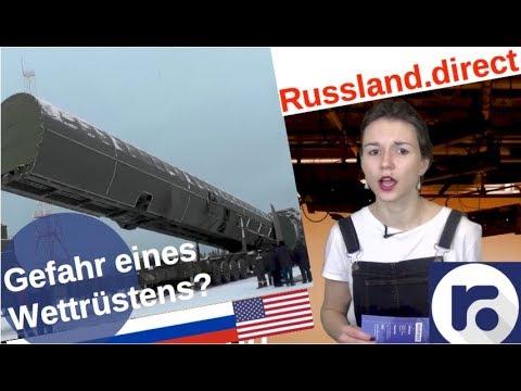 Russland-USA: Gefahr eines Atom-Wettrüstens? [Video]